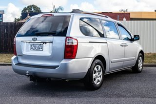 2010 Kia Grand Carnival VQ EXE Silver 5 Speed Sports Automatic Wagon.