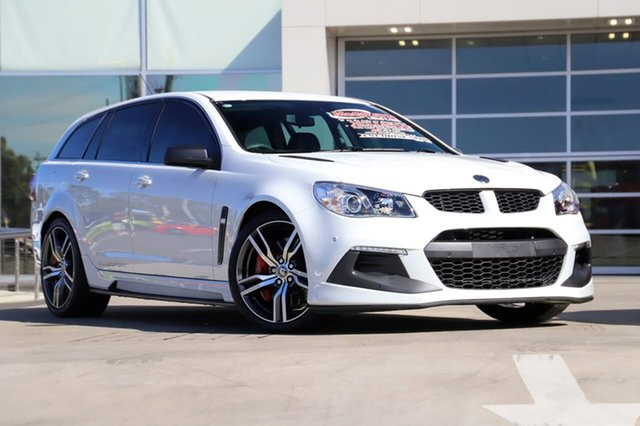 Used Holden Special Vehicles ClubSport Gen-F2 MY16 R8 Tourer LSA Liverpool, 2016 Holden Special Vehicles ClubSport Gen-F2 MY16 R8 Tourer LSA White 6 Speed Sports Automatic