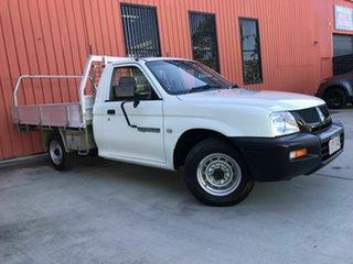 2005 Mitsubishi Triton MK MY05 GL 4x2 White 5 Speed Manual Cab Chassis.
