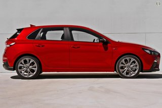 2020 Hyundai i30 PD.V4 MY21 N Line D-CT Red 7 Speed Sports Automatic Dual Clutch Hatchback.