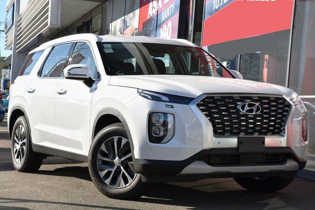New Hyundai Palisade LX2.V1 MY21 (8 Seat) Victoria Park, 2020 Hyundai Palisade LX2.V1 MY21 (8 Seat) White Cream 8 Speed Automatic Wagon