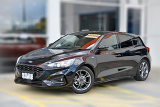 2019 Ford Focus SA 2020.25MY ST-Line Black 8 Speed Automatic Hatchback.