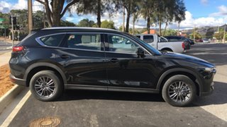 2021 Mazda CX-8 KG2WLA Sport SKYACTIV-Drive FWD Jet Black 6 Speed Sports Automatic Wagon