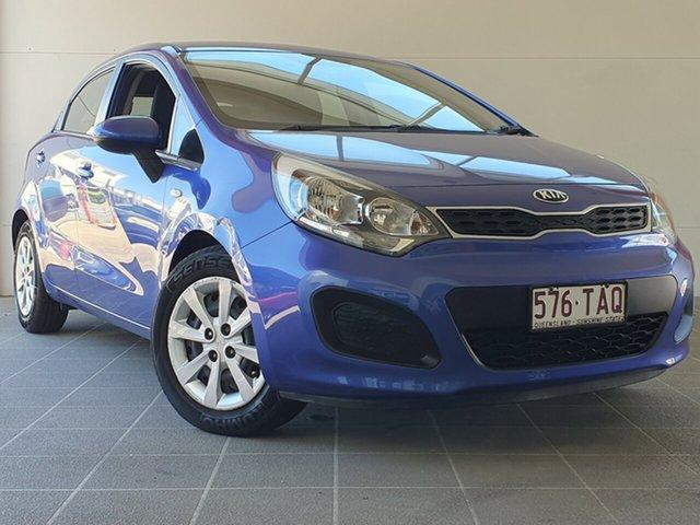 Used Kia Rio UB MY12 S Brendale, 2012 Kia Rio UB MY12 S Blue 4 Speed Sports Automatic Hatchback