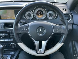 2011 Mercedes-Benz C350 W204 MY11 BE Black 7 Speed Automatic G-Tronic Coupe