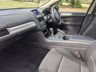 2013 Ford Falcon FG MkII Ute Super Cab Silver 6 Speed Automatic Utility.