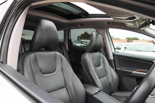 2016 Volvo XC60 DZ MY16 T5 Geartronic Luxury White 8 Speed Sports Automatic Wagon.