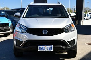 2016 Ssangyong Korando C200 MY15 S 2WD Silver 6 Speed Automatic Wagon