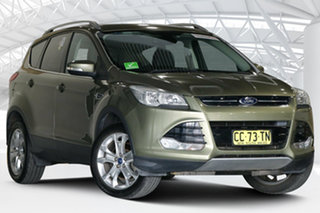 2015 Ford Kuga TF MY15 Trend AWD Ginger Ale 6 Speed Sports Automatic Wagon.