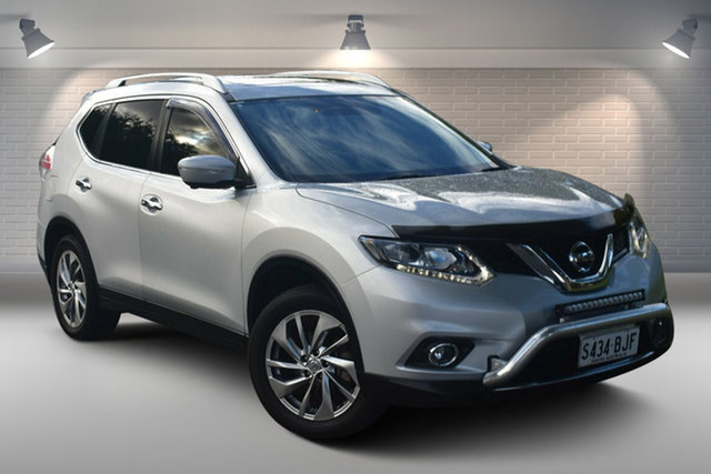 Used Nissan X-Trail T32 TL X-tronic 2WD Nailsworth, 2015 Nissan X-Trail T32 TL X-tronic 2WD Silver 7 Speed Constant Variable Wagon