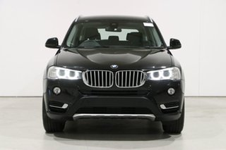 2017 BMW X3 F25 MY17 Update xDrive 20I Black 8 Speed Automatic Wagon.
