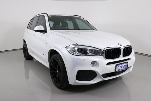 Used BMW X5 F15 MY16 xDrive30d Bentley, 2016 BMW X5 F15 MY16 xDrive30d White 8 Speed Automatic Wagon