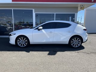 2019 Mazda 3 BP2H76 G20 SKYACTIV-MT Evolve White 6 Speed Manual Hatchback