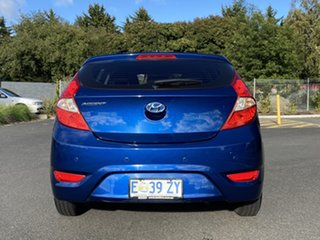 2015 Hyundai Accent RB3 MY16 Active Dazzling Blue 6 Speed Constant Variable Sedan
