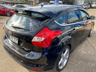 2013 Ford Focus LW MkII Titanium PwrShift Black 6 Speed Sports Automatic Dual Clutch Hatchback