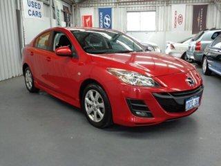 2009 Mazda 3 BK10F2 MY08 Maxx Sport Red 4 Speed Sports Automatic Sedan.