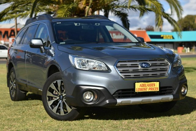 Used Subaru Outback B6A MY16 2.5i CVT AWD Cheltenham, 2016 Subaru Outback B6A MY16 2.5i CVT AWD Grey 6 Speed Constant Variable Wagon