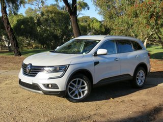2016 Renault Koleos HZG Zen X-tronic White 1 Speed Constant Variable Wagon