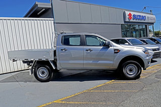 2020 Ford Ranger PX MkIII 2020.25MY XL Hi-Rider Silver 6 Speed Sports Automatic Double Cab Chassis