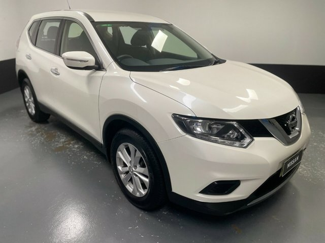 Used Nissan X-Trail T32 ST-L X-tronic 4WD Hamilton, 2017 Nissan X-Trail T32 ST-L X-tronic 4WD White 7 Speed Constant Variable Wagon
