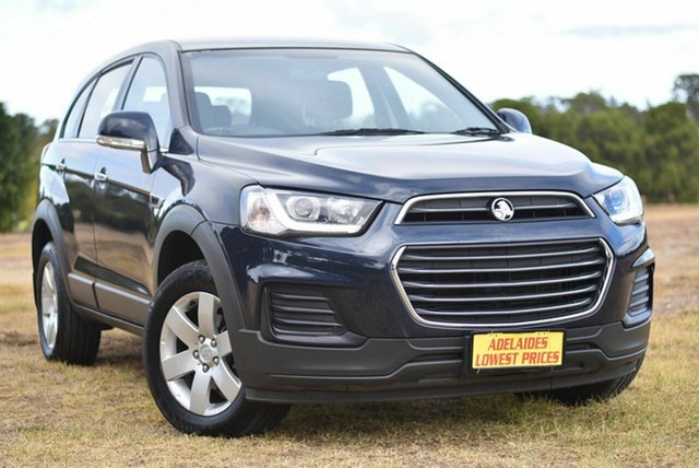 Used Holden Captiva CG MY16 LS 2WD Enfield, 2016 Holden Captiva CG MY16 LS 2WD Blue 6 Speed Sports Automatic Wagon