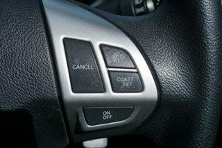 2010 Mitsubishi Lancer CJ MY10 ES Sportback Silver 5 Speed Manual Hatchback
