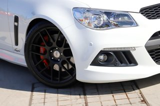 2014 Holden Special Vehicles ClubSport Gen-F MY15 R8 Heron White 6 Speed Sports Automatic Sedan
