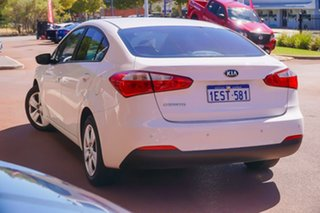 2015 Kia Cerato YD MY15 S White 6 Speed Sports Automatic Sedan