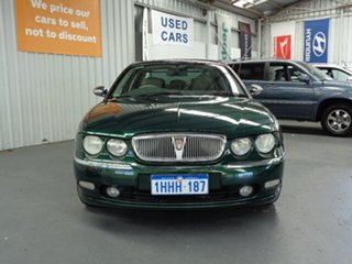 2001 Rover 75 Connoisseur Green 5 Speed Automatic Sedan.