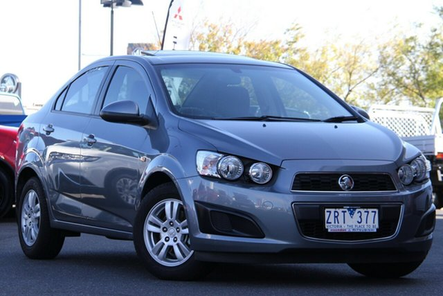 Used Holden Barina TM Essendon North, 2012 Holden Barina TM Grey 5 Speed Manual Sedan