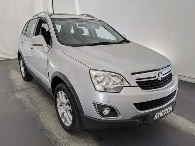 Used Holden Captiva CG Series II 5 Maryville, 2012 Holden Captiva CG Series II 5 Silver 6 Speed Manual Wagon