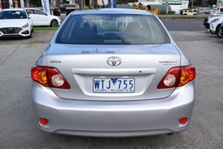 2008 Toyota Corolla ZRE152R Ascent Billet Silver 6 Speed Manual Sedan