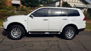 2011 Mitsubishi Challenger PB MY11 LS (7 Seat) (4x4) White 5 Speed Automatic Wagon.