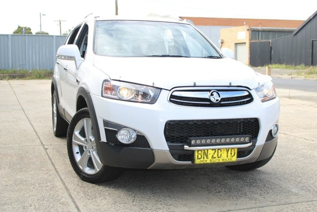 Used Holden Captiva CG Series II 7 LX (4x4) West Footscray, 2012 Holden Captiva CG Series II 7 LX (4x4) White 6 Speed Automatic Wagon