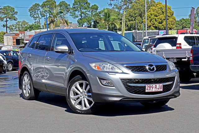 Used Mazda CX-9 TB10A3 MY10 Grand Touring Chandler, 2010 Mazda CX-9 TB10A3 MY10 Grand Touring Silver 6 Speed Sports Automatic Wagon