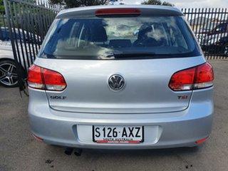 2012 Volkswagen Golf VI MY13 118TSI DSG Comfortline Silver 7 Speed Sports Automatic Dual Clutch