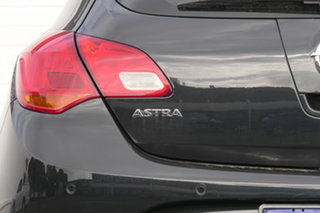 2013 Opel Astra AS Select Black 6 Speed Sports Automatic Hatchback