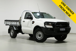 2016 Ford Ranger PX MkII MY17 XL 3.2 (4x4) White 6 Speed Automatic Cab Chassis.