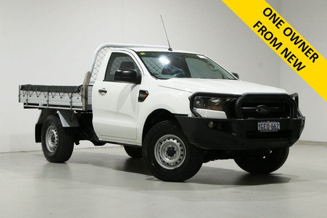 Used Ford Ranger PX MkII MY17 XL 3.2 (4x4) Bentley, 2016 Ford Ranger PX MkII MY17 XL 3.2 (4x4) White 6 Speed Automatic Cab Chassis