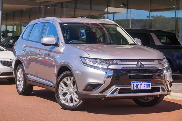 Used Mitsubishi Outlander ZL MY20 ES 2WD Gosnells, 2020 Mitsubishi Outlander ZL MY20 ES 2WD Silver 6 Speed Constant Variable Wagon