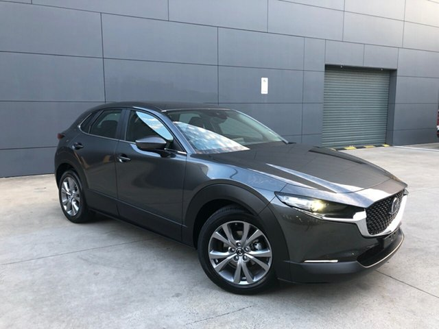 New Mazda CX-30 DM2W7A G20 SKYACTIV-Drive Evolve Alexandria, 2021 Mazda CX-30 DM2W7A G20 SKYACTIV-Drive Evolve Machine Grey 6 Speed Sports Automatic Wagon