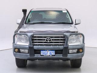 2008 Toyota Landcruiser VDJ200R VX (4x4) Silver 6 Speed Automatic Wagon.