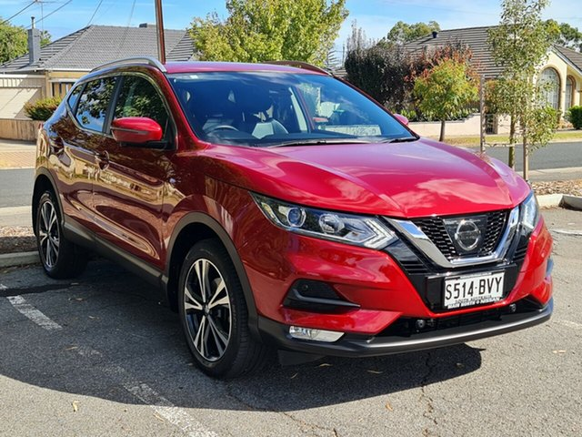 Used Nissan Qashqai J11 Series 2 ST-L X-tronic Nailsworth, 2018 Nissan Qashqai J11 Series 2 ST-L X-tronic Red 1 Speed Constant Variable Wagon