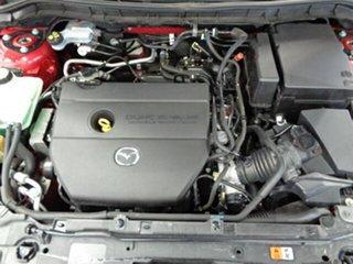 2009 Mazda 3 BK10F2 MY08 Maxx Sport Red 4 Speed Sports Automatic Sedan