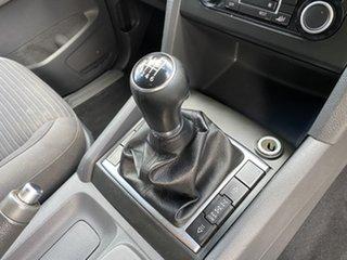 2011 Volkswagen Amarok 2H MY12 TDI400 4Mot Highline Silver 6 Speed Manual Utility