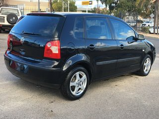 2003 Volkswagen Polo 9N MY2004 Match Black 5 Speed Manual Hatchback.