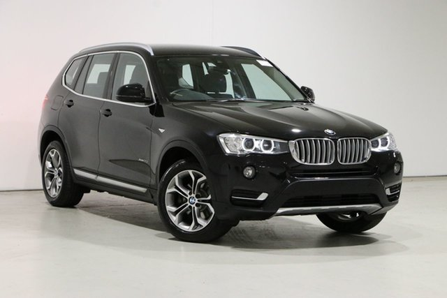 Used BMW X3 F25 MY17 Update xDrive 20I Bentley, 2017 BMW X3 F25 MY17 Update xDrive 20I Black 8 Speed Automatic Wagon