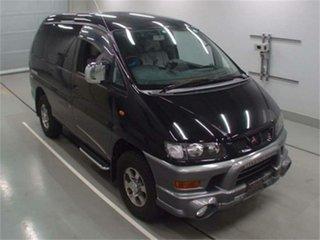 2001 Mitsubishi Delica Black Automatic Van Wagon.