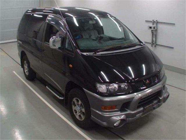 Used Mitsubishi Delica Silverwater, 2001 Mitsubishi Delica Black Automatic Van Wagon
