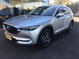 2018 Mazda CX-5 KF Series GT Silver Sports Automatic.